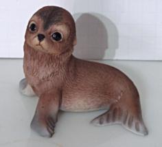 Vintage 1978 Bone China - Sea Lion by R J Brown #2203 Wildlife Series - $14.00