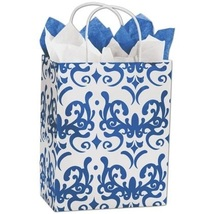 Classicality Blue Shoppers Gift Bags, 25 pack - $20.50