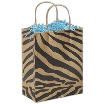The Wild Side Shoppers Gift Bags, 25 pack - $20.50