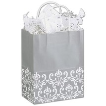 Silvery Chic Shoppers Gift Bags, 25 pack - $20.50
