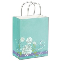 Spring Bouqet Shoppers Gift Bags, 25 pack - $20.50