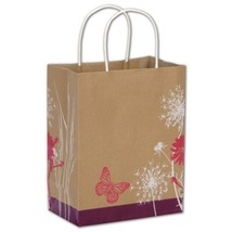 Down to Earth Shoppers Gift Bags, 25 pack - $20.50