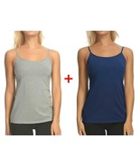 Maidenform 2- Pack Cotton Stretch Camisole - $12.99
