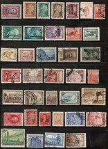 ARGENTINA---LOT of USED and UNUSED DL-143 - $1.97