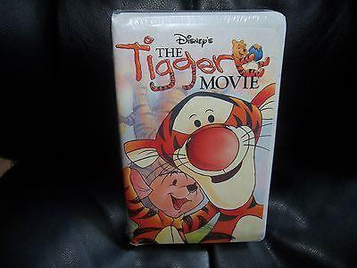 Winnie the Pooh - The Tigger Movie (VHS, 2000) NEW