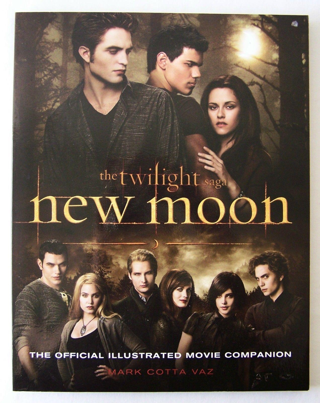 the twilight saga new moon official illustrated movie