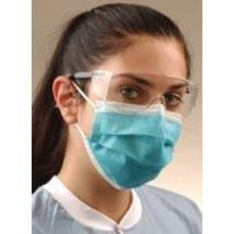 Crosstex GCIBL Latex-Free Isofluid Earloop Mask, Blue (Pack of 50) - $8.97