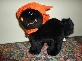Sears Canada HALLOWEEN BLACK CAT Stuffed Plush - €24,53 EUR