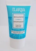 Elariia Snowdrop Body Cream 1 oz Tube Travel Size - $12.84