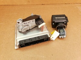 05 Mercedes W209 CLK320 Engine Computer Ignition FOB ECU EIS ISL Set A1121533779