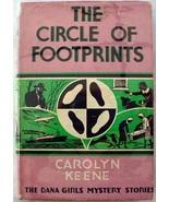 Dana Girls 6 The Circle of Footprints 1st Edition 1st Print? Nancy Drew ... - $72.00