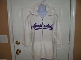 Aeropostale White Jacket Short Sleeves Size XL Women's NWOT - $39.99