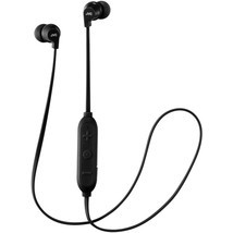 JVC HAFX21BTB In-Ear Headphones with Microphone and Bluetooth (Black) - $38.04