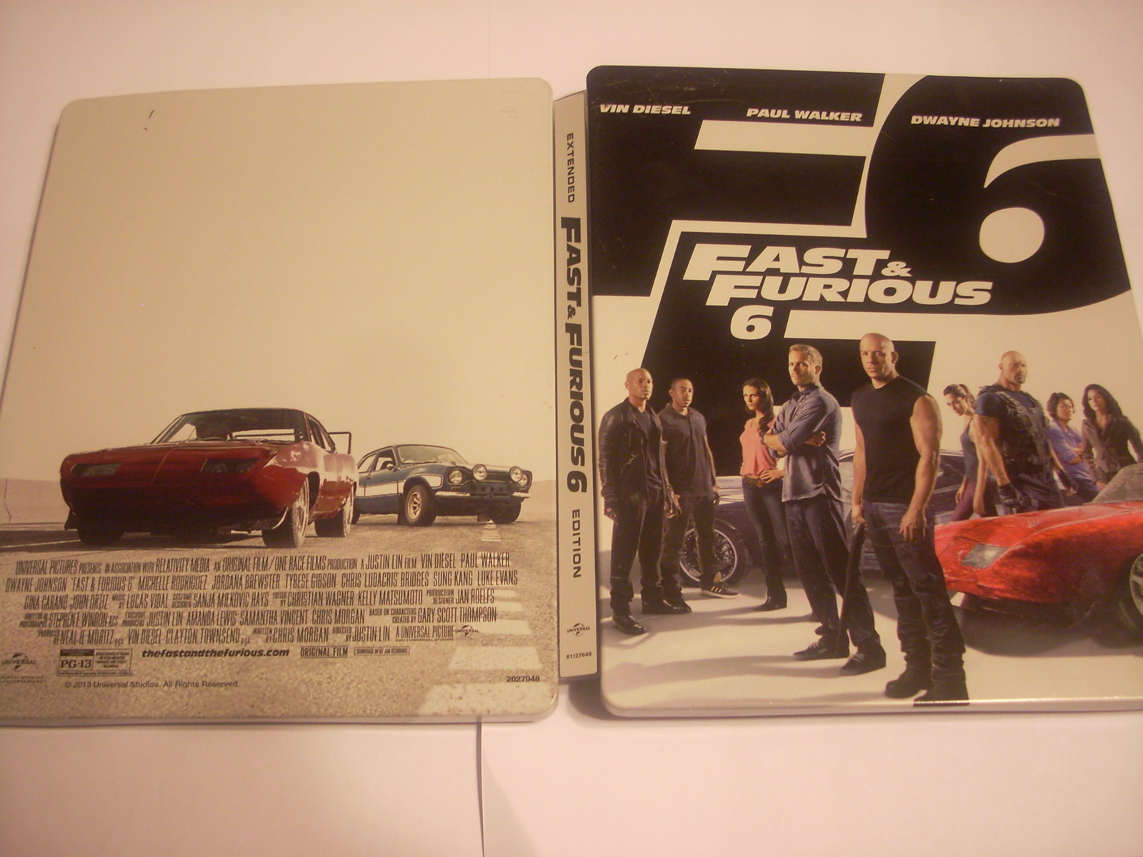 Fast & Furious 6 - DVD/Blu Ray Steelbook