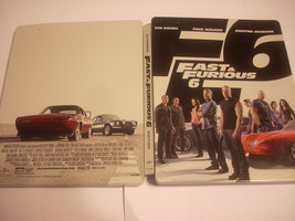 Fast & Furious 6 - DVD/Blu Ray Steelbook - $3.75