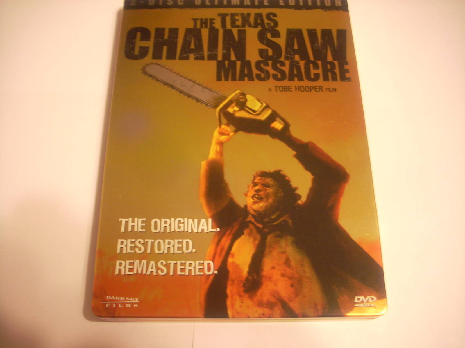 The Texas Chainsaw Massacre 2-Disc Ultimate Edition Steelbook DVD