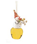 Snowman Jingle Bell Christmas Ornament - $5.95