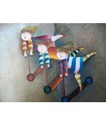 Paint Toy Scooters Canvas Painting Children Pla... - $49.01