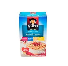 Quaker Instant Oatmeal Fruit and Cream 8-1.23 Oz Packs (2 Boxes) - $17.77