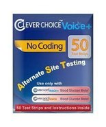 Clever Choice Auto-Code Voice+ Test Strips 50ct. - $9.99