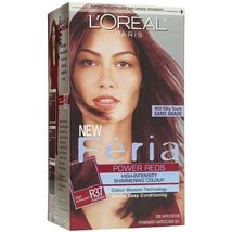 L'Oreal Feria Power Reds, High-Intensity, Shimmering Colour, Blowout Bur... - $22.72