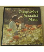 Columbia House Todays Most Beautiful Music Record Album Qty 6 - $29.83
