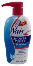 Nair Hair Remover Shower Power Sensitive 12.6 Ounce Pump (372ml) (2 Pack) - $41.53