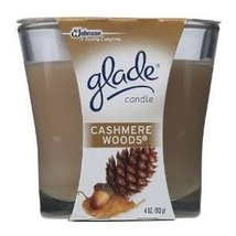 Glade Candle Cashmere Woods 4 Oz (2 Pack ) - $24.70
