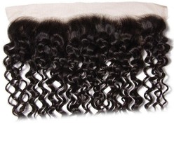 UNice Hair Curly Human Hair - Natural Color, 18inches, Free Part - $200.20