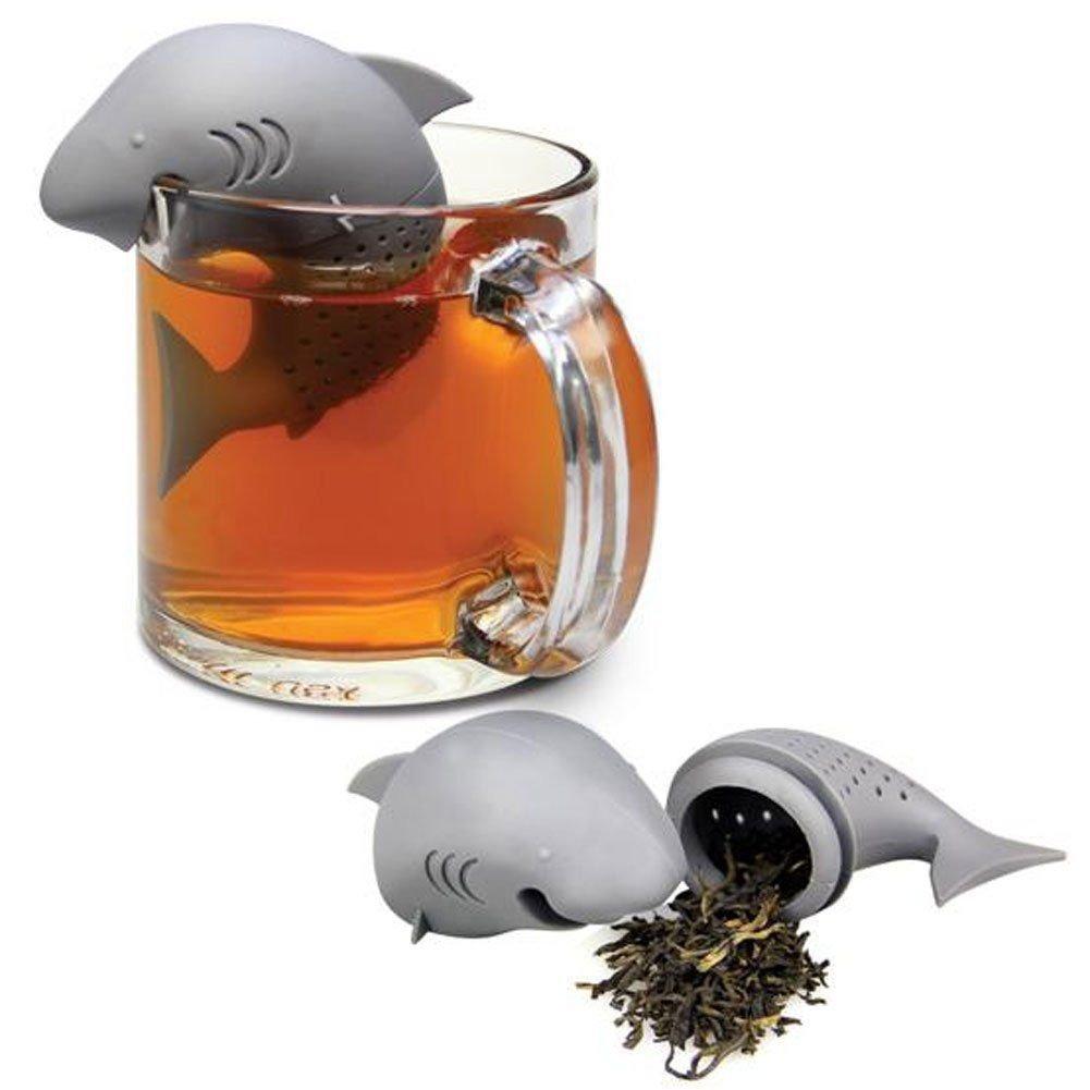 Cute Shark Infuser Tea Leaf Strainer Herbal Tea Infuser