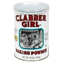 Clabber Girl, Baking Powder, 8.1oz Canister (Pack of 3) - $17.81