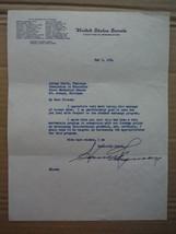 Senator Homer Ferguson autographed letter (1954) - $34.75