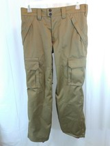 Men's Aperture 10,000MM Waterproofing Snowboard Pants Size Small Brown V... - $37.99