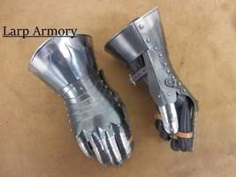 NauticalMart Medieval Warrior Gauntlets Metallic Armor Halloween Costume - $259.31