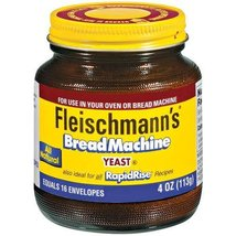 Fleischmann's Bread Machine Yeast, Also Ideal for All Rapid Rise Recipes... - $28.36