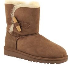 UGG Ebony Comfort Winter Boots chestnut - Girls Size 6 NIB - $90.24