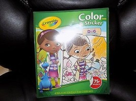 Crayola Doc McStuffins Color and Sticker Book NEW - $16.20