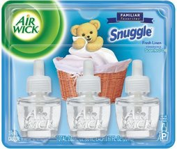 Air Wick Scented Oil Refill Plug in Air Freshener Essential Oils, Snuggl... - $15.47