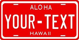 Hawaii 1957 Personalized Tag Vehicle Car Auto License Plate - $16.75