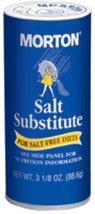 Morton Salt Substitute, 3.125 Oz (Pack of 12) - $64.65