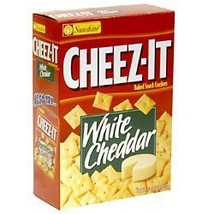 Cheez-it White Cheddar Baked Snack Crackers, 9 Ounces - $10.54