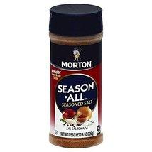 Morton Season All Seasoned Salt, 8 oz (Pack of 6) - $26.69