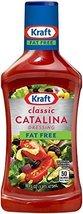 Kraft Free Catalina Fat Free Salad Dressing 16oz Bottles (Pack of 3) - $18.52