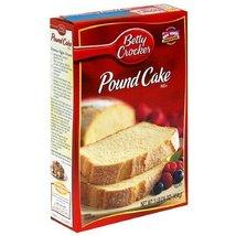 Betty Crocker Pound Cake Mix - 16 oz (6 pack) - $42.32