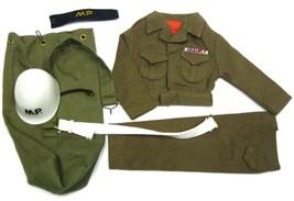Vintage 1964 GI Joe Soldier Military Police MP Uniform Set Mint Unused   - $124.99