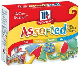 McCormick Food Colors & Egg Dye, Four Assorted,... - $43.57