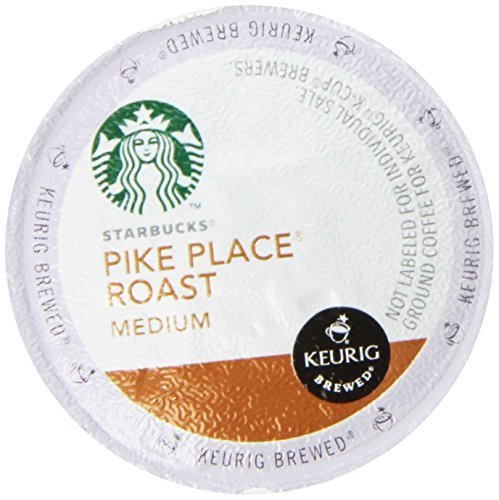 Starbucks Pike Place Roast, K-Cup for Keurig Brewers, 16 Count for sale  USA