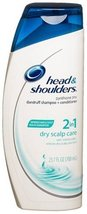 Head and Shoulders 2-in-1 Dandruff Shampoo and Conditioner, Dry Scalp Care, 23.7 - $22.75