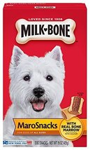 Milk-Bone MaroSnacks Dog Treats for Small Dogs, 15-Ounce (Pack of 6) - $47.47