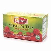 Lipton Green Tea, Superfruit, Red Goji and Raspberry20 bags - $8.56